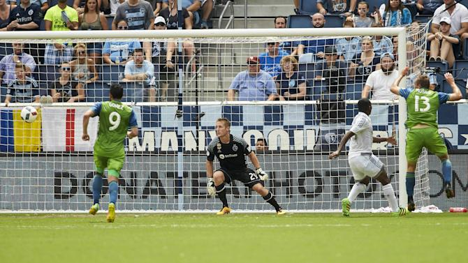 Sounders manage only one shot as skid continues