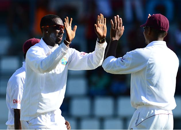 Shane Shillingford: The lanky off-spinner, who played only in two matches, impressed on his Test comeback as he took 14 Australian wickets, including his maiden five-for in ten-wicket haul in the thir