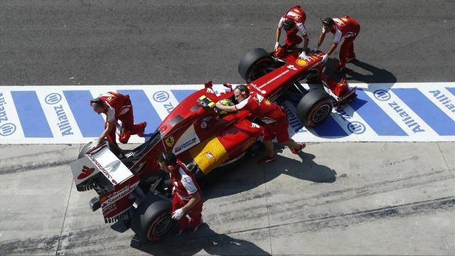 Formula 1 - Ferrari fined for Massa pit mistake