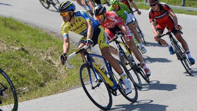 Cycling - Contador wins Tirreno-Adriatico stage four, Kwiatkowski retains lead