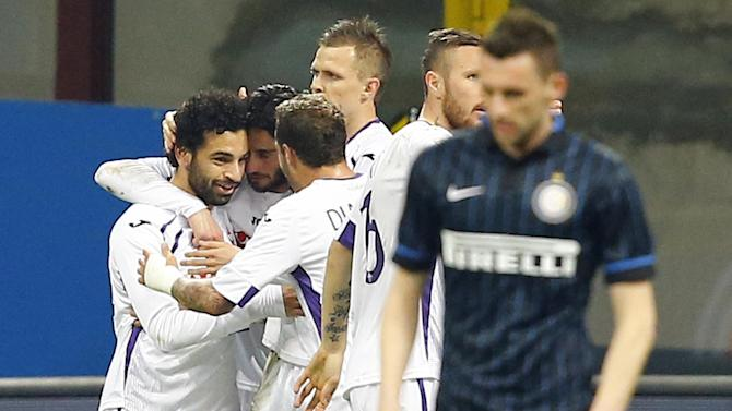 Serie A - Resurgent Mohamed Salah gives Fiorentina win at Inter