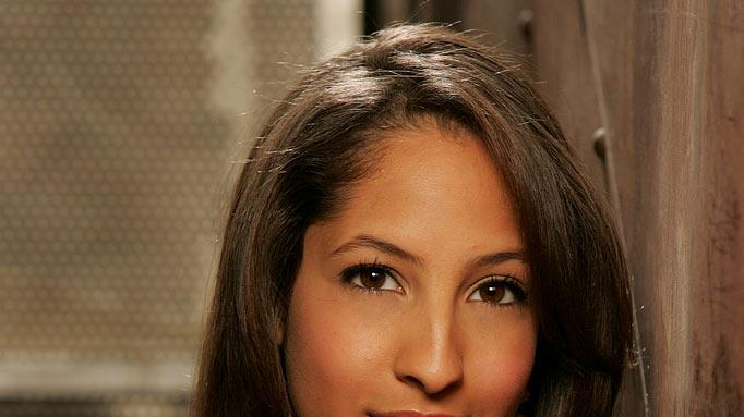 "Christel Khalil stars as Lily Winters on ""The Young and the Restless."""