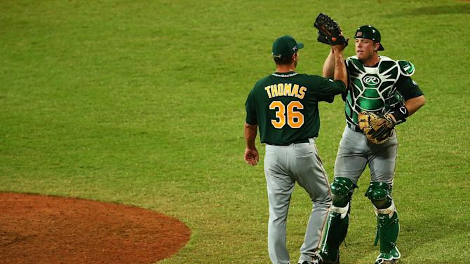 Team Australia v Arizona Diamondbacks