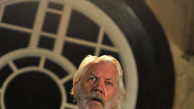 "Donald Sutherland stars as Father Mapple in ""Moby Dick."""