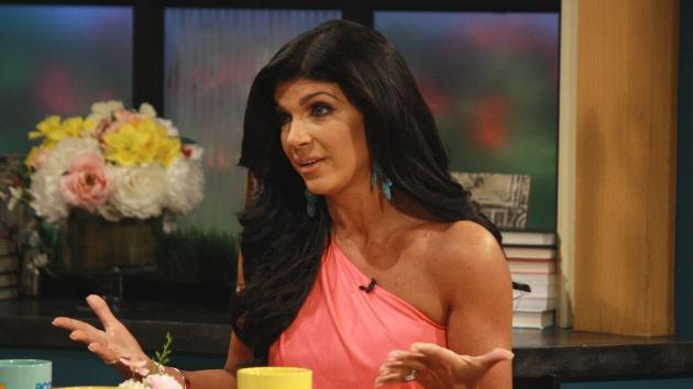 Teresa Giudice stops by Access Hollywood Live on May 24, 2012  -- Access Hollywood