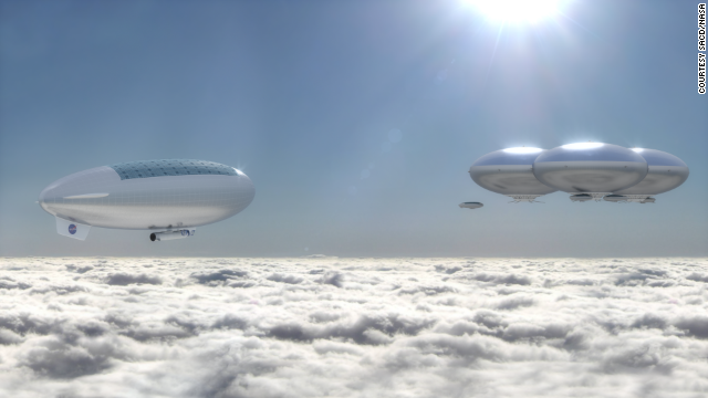 NASA Proposes City On Venus Called Cloud City, And The Technology Already Exists