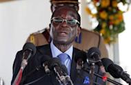 Zimbabwean President Robert Mugabe pictured at Victoria Falls on May 29 during the signing ceremony of the trilateral hosting agreement for the 2013 UNWTO General Assembly. One person has been killed and 15 injured by Mugabe's motorcade, in the third such accident in two weeks in Zimbabwe, police said Tuesday