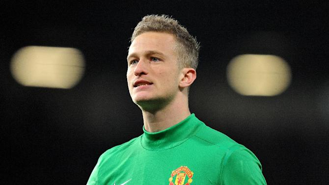 Anders Lindegaard was frustrated by United's defeat to Galatasaray