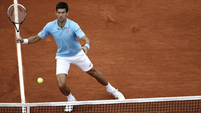French Open men - Novak Djokovic v Milos Raonic: LIVE