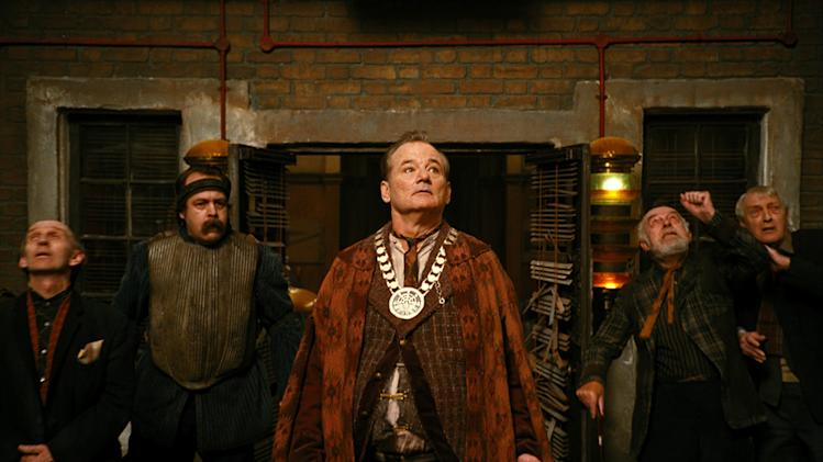 Bill Murray City of Ember Production Stills Fox Walden 2008 Comic-Con Reveal