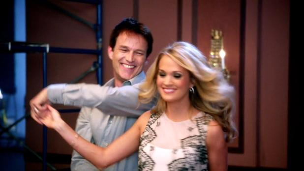 'True Blood's' Stephen Moyer Gives Carrie Underwood a Twirl on NBC's 'Sound of Music Live!' (Video)