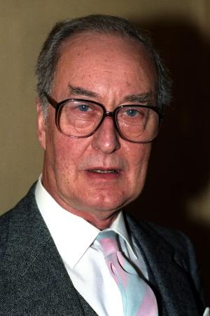 "FILE - In this April 29, 1992 file photo, actor Frank Thornton poses for a photograph in London. British actor Frank Thornton — best known as Captain Peacock in the hit television comedy ""Are You Being Served?"" — has died at age 92. The actor's agent, David Daly, said Monday, March 18, 2013 that Thornton died in his sleep in his home in London in the early hours of Saturday. (AP Photo/PA, Jim James, File) UNITED KINGDOM OUT, NO SALES, NO ARCHIVE"