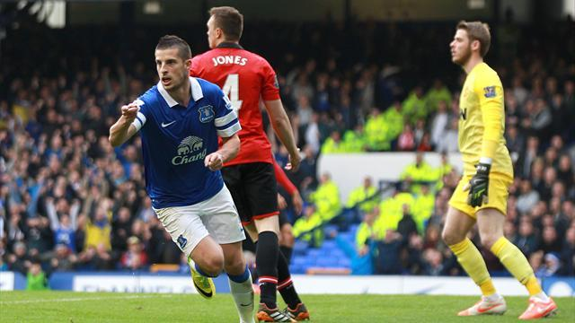 Premier League - Defeat at Everton ends Manchester United's top four hopes