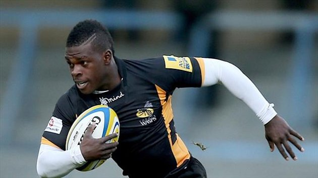 Christian Wade scored two tries for Wasps.