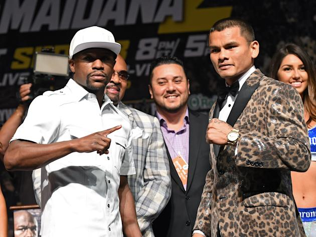 Floyd Mayweather Jr. v Marcos Maidana - News Conference