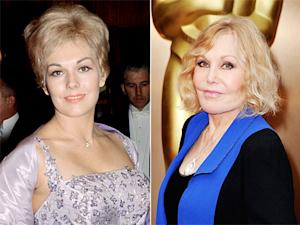 "Kim Novak Looks Unrecognizable at 2014 Oscars, Sparks ""Frozen"" Twitter Jokes"