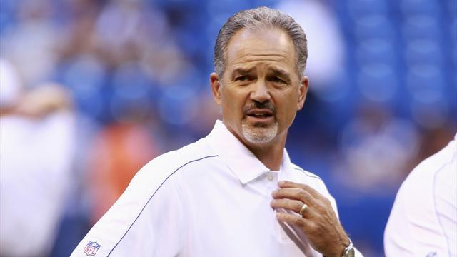 NFL  - Colts coach Pagano returns to work after cancer