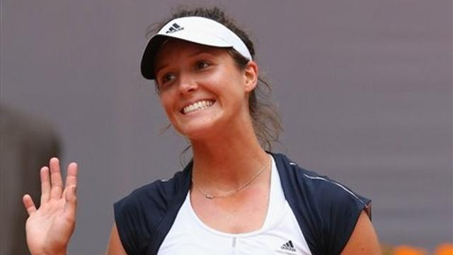 French Open - Robson draws Wozniacki, Sharapova on course to meet Stosur