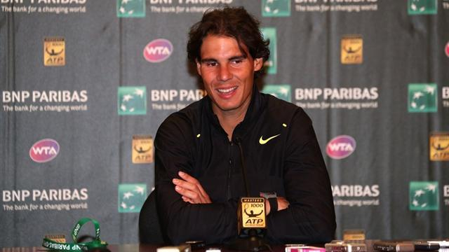 Tennis - Nadal set for his first hardcourt test on comeback
