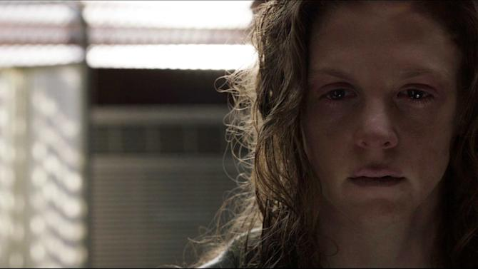 """This film image released by CBS Films shows Ashley Bell in a scene from """"The Last Exorcism Part II."""" (AP Photo/CBS Films)"""