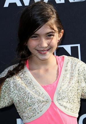 Rowan Blanchard attends the 2nd Annual Cartoon Network Hall of Game Awards at Barker Hangar on February 18, 2012 in Santa Monica, Calif. -- Getty Images