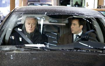 Michael Caine and Nicolas Cage in Paramount Pictures' The Weather Man