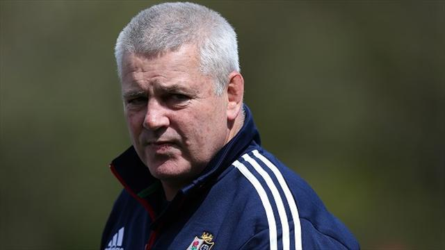 Rugby - Gatland 'had coaching talent from early age'