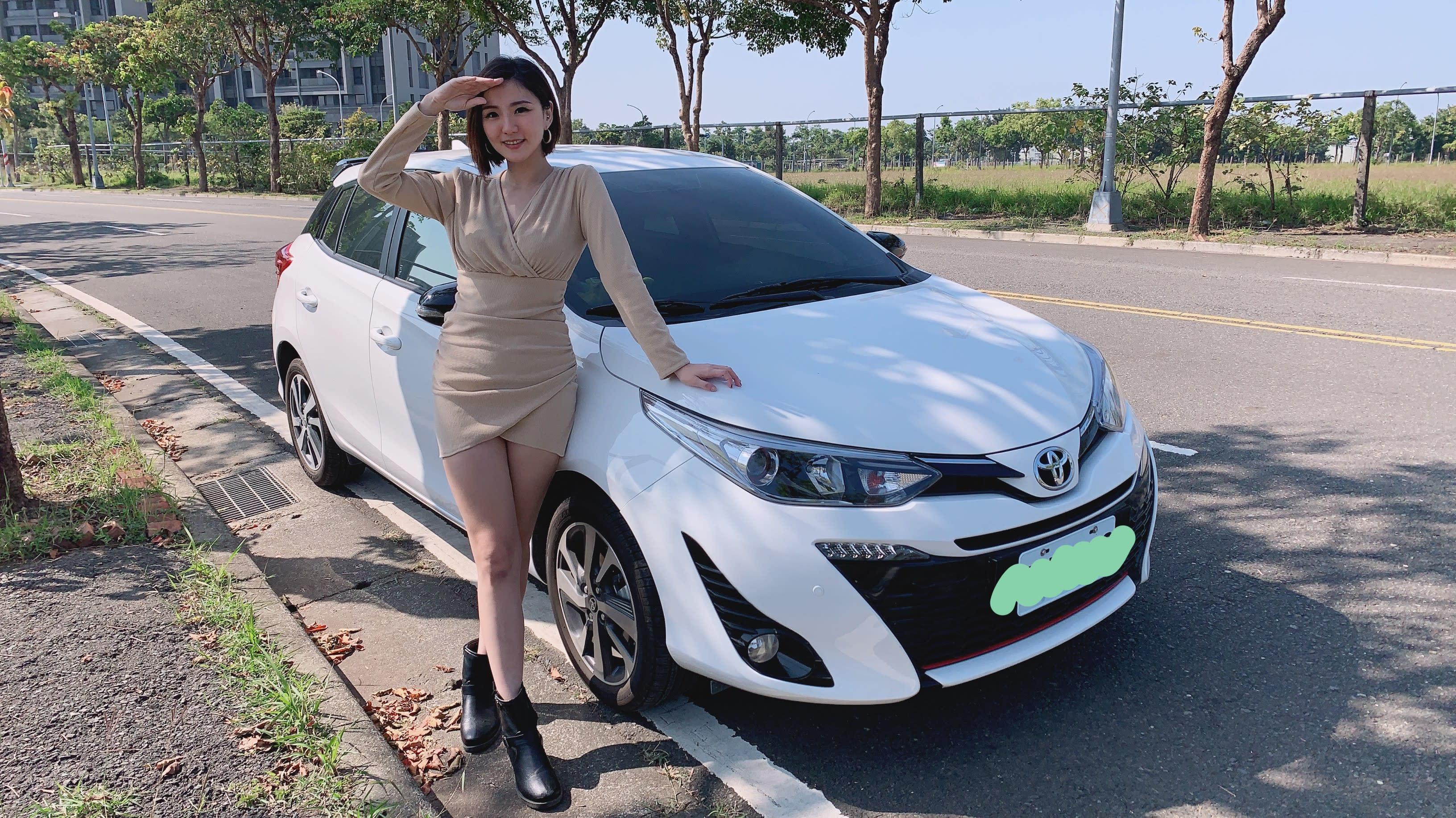 【名人愛聊車】主播王鈺婷選車注重「腿部」收納 看重TOYOTA YARIS安全性與靈活空間