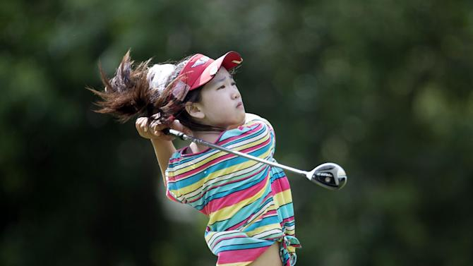 11-year-old golfer Lucy Li just wants to have fun
