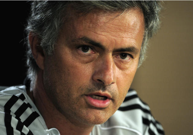 Real Madrid's Portuguese Coach Jose Mourinho Speaking AFP/Getty Images