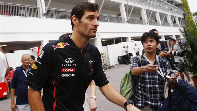 Webber penalised and loses point
