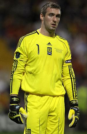 Allan McGregor was deemed fit enough to be included in the Scotland squad