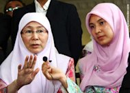 After watching video, Wan Azizah declares Anwar innocent