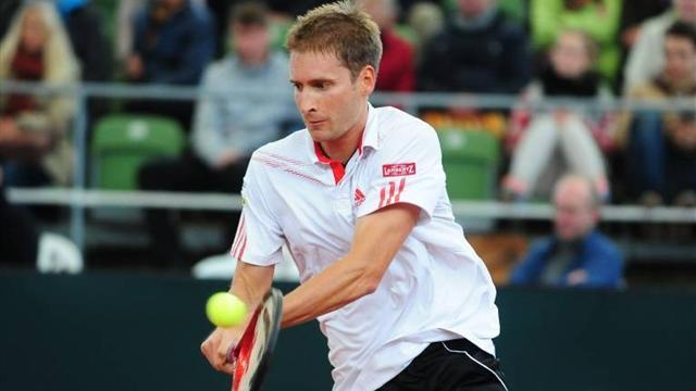 Tennis: Mayer out in Stockholm