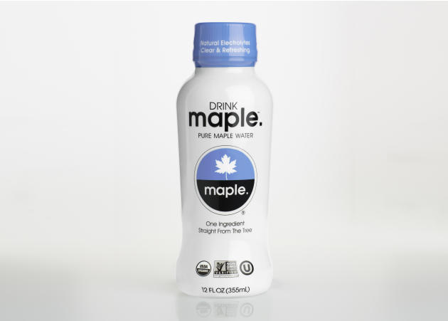 This undated product image provided by Drink Maple shows the Drink Maple Pure Maple Water. The Concord, Mass. company says its Maple Water is tapped straight from maple trees. The company says it's so
