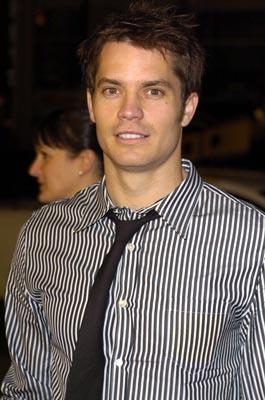 Premiere: Timothy Olyphant at the LA premiere of 20th Century Fox's The Girl Next Door - 3/4/2004