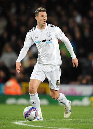 Eddie Howe has nominated Jason Shackell, pictured, to captain Burnley to success in the coming season