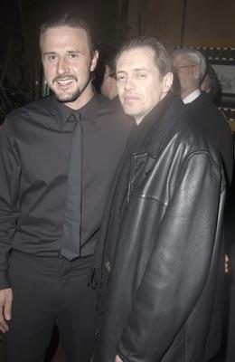 David Arquette and Steve Buscemi Masked and Anonymous Party Sundance Film Festival 1/22/2003