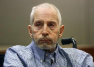 """FILE - In this Friday, Jan. 6, 2017, file photo, real estate heir Robert Durst appears in a Los Angeles Superior Court Airport Branch for a pre-trial motions hearing in Los Angeles. Durst's close friend Nathan Chavin said Friday, Feb.17, 2017, that it took seven months for him to come clean and tell prosecutors what the real estate heir said about killing their close friend. Chavin said he struggled during that time to balance his loyalties to two best friends before deciding to tell """"the whole truth"""" about what he knew about Susan Berman's death. (Mark Boster/Los Angeles Times via AP, Pool, File)"""
