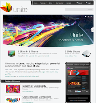 5 Top Premium WordPress Themes For Business image unite business theme