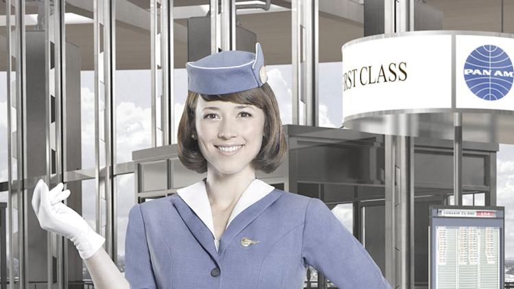 "Karine Vanasse stars as Colette in ""Pan Am."""