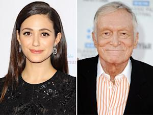 Emmy Rossum Spoofs Gisele Bundchen, Hugh Hefner and Crystal Harris Share Their Christmas Card: Top 5 Thursday Stories