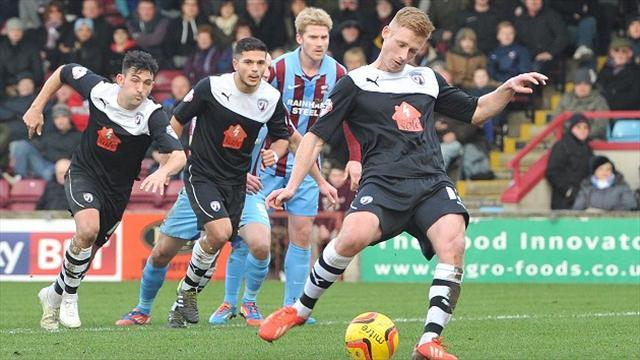 League Two - Leading trio held in League Two