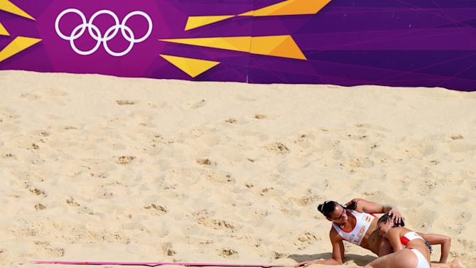 Olympics Day 8 - Beach Volleyball