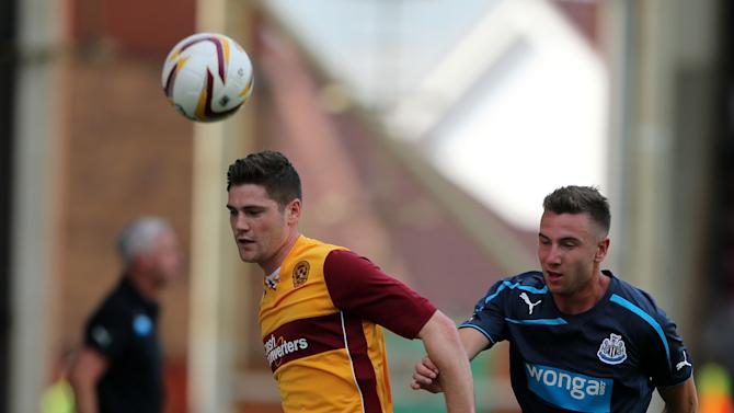 Soccer - Pre-Season Friendly - Motherwell v Newcastle United - Fir Park