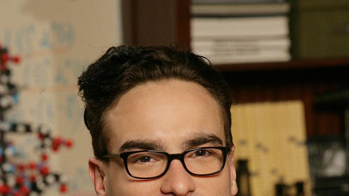 Johnny Galecki stars as Leonard in The Big Bang Theory.
