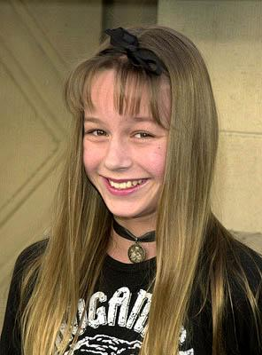 "Premiere: ""Raising Dad"" star Brie Larson at the Hollywood premiere of Snow Dogs - 1/13/2002"