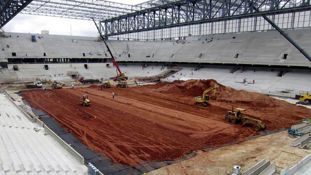 World Cup - Delayed World Cup stadium 'will be ready'
