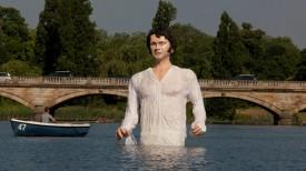 UKTV Launches Drama Channel With Giant Lake Statue Of Colin Firth As Mr. Darcy