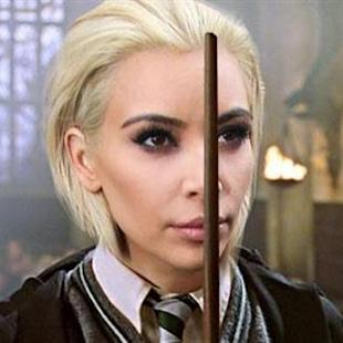 Kim K's blonde 'do creates doppleganger meme frenzy